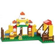 Sluban Happy Farm Building Block Toys for Kids 85 Pieces Multi Color Lego Compatible Educational Gift Toy Set M38-B6006