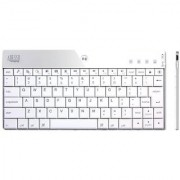 Adesso WKB-1000BW Bluetooth 3.0 Mini Keyboard for iPad 2/The New iPad