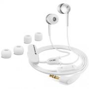 Sennheiser CX 500 - слушалки с управление на звука за iPhone, iPod, iPad и мобилни устройства (бял)
