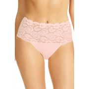 Perfects Cotton and Lace Full Brief - White