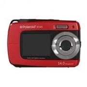 Camara digital polaroid if045 roja 14mp doble pantalla 2.7/1.8 sumergible 3mts