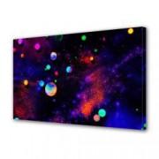 Tablou Canvas Premium Abstract Multicolor Bile Multicolore Decoratiuni Moderne pentru Casa 80 x 160 cm