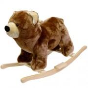 Happy Trails Bear Plush Rocking Animal Ride On