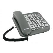 Telefunken Tf 401 Cosi - Téléphone Filaire - Gris