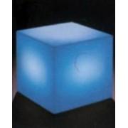 Verlicht object kubus 45 cm met RGB