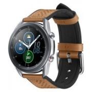 Spigen Retro Fit Universeel Smartwatch 22MM Bandje Kunst Leer Bruin