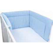 Aparatoare laterala pentru patut 190 x 40cm - Albastru pal