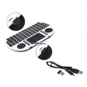 Wireless Touchpad Mouse & Keyboard - Lithium rechargeable battery