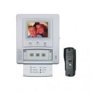 MOVETO V-027C bezsluchátkový barevný dveřní videotelefon s nočním viděním (541027)