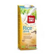 Lapte BIO de orez si vanilie 1L Lima