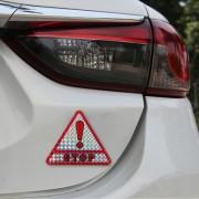 Automatische Plastic staart-crash-proof auto Sticker met twee pc 's