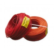 2x1,00 mm2 cable, twisted with screen, polyvinylchloride rated, flame retardant, (rolls by 200m), en50200 SD3