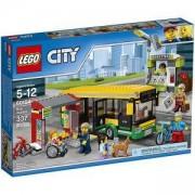 Конструктор ЛЕГО СИТИ - Автобусна спирка, LEGO City Town, 60154
