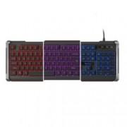 Клавиатура Natec Genesis NKG-0873, черна, гейминг, подсветка, USB