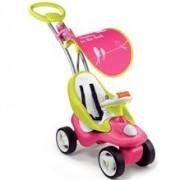 Masinuta De Impins Smoby Bubble Go 2 In 1 Pink