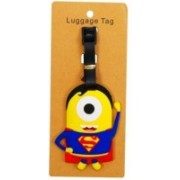 Funcart Superman Character Luggage Tag(Multicolor)