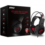 HEADPHONES, MSI DS502, Gaming, Headset, USB