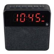 Портативна тонколонка HAMA Pocket Clock, Bluetooth, micro-SD, USB, черен, HAMA-173167