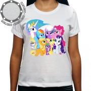 Camiseta My Little Pony Personagens