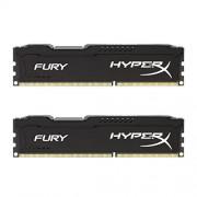 HyperX Fury HX316C10FBK2/8 DD3-RAM Werkgeheugen 8 GB (1600MHz, CL10, 2x 4GB), zwart