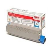 Oki C5800 C5900 C5550 Toner cian (OKI 43324423)