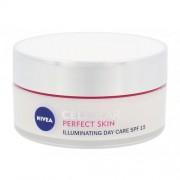 Nivea Cellular Perfect Skin Illuminating Day Cream SPF15 50 ml rozjasňujúci denný pleťový krém pre ženy