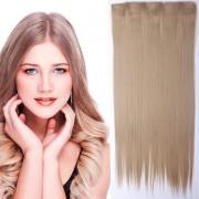 Clip in vlasy - 60 cm dlouhý pás vlasů - odstín (18 (středně plavá)) - Světové Zboží