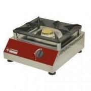 Diamond Réchaud de Comptoir gaz 1 feu vif 5 kW 380x400x(h)200mm