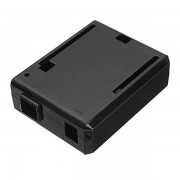 Arduino Black ABS Plastic Enclosure Protective Case For Arduino UNO R3 Board Compatible USB Short Current Protection DIY Kit