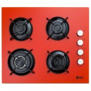 Plita incorporabila LDK YD640VE40T 4 Arzatoare 1 Arzator WOK Aprindere electrica Siguranta 3 Ani garantie 60 cm Portocaliu