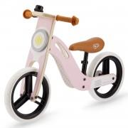 Kinderkraft UNIQ Bicicleta Bici sin Pedales Madera Accesorios Pink