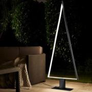 * LED-Outdoor-Lichtbaum, Sompex Pine Outdoor LED,dunkelgrauer Metallrahmen, Wetterfest, standfest, Outdoor-Tanne, Lichtobjekt,pulverbeschichtetes Metall