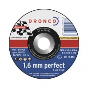 Disc debitare metale Dronco Perfect Ø125x1,6x22,23 mm