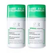 SVR Spirial Déodorant Anti-Transpirant Végétal Roll-on Lot de 2 x 50 ml - Lot 2 x 50 ml