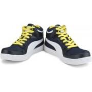 Puma Men Mid Ankle Sneaker For Men(Blue)
