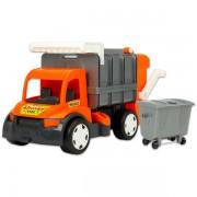 Wader: óriás kukásautó - 60 cm, több színben