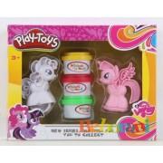 Пластелини Play Toys с 2 понита