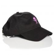 Șapcă SULLEN - POP BADGE - BLACK / PINK - SCA1240_BKPK
