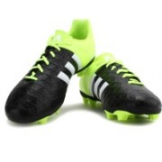 Adidas ACE 15.4 FXG Men Football Studs(Black, Green)