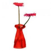 Trendform Blumenvase Le Sack rot frost