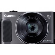 Canon PowerShot SX620HS Digitalkamera 20 Megapixel Zoom (optisk): 25 x Svart Full HD Video, WiFi