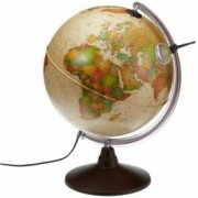 Glob Geografic Marco Polo Iluminat Diametru 25cm