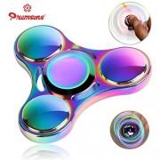 Premsons Ultra Durable High Speed Metallic Rainbow Fidget Hand Spinner, Rainbow