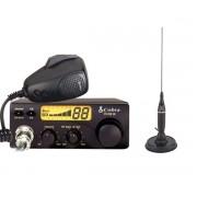 Pachet statie radio emisie receptie CB Cobra 19DX IV EU si HGA1500 Raza de pana la 25km