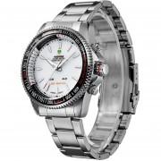 Relojes WEIDE WH903 LED Digital Impermeable Hombres (Blanco)