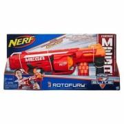 Nerf N Strike Mega Series Roto Fury Blaster Mega Whistler Darts Scream Through The Air