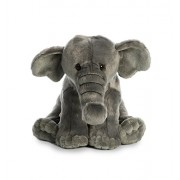 Aurora World Destination Nation Asian Elephant, Gray, Medium