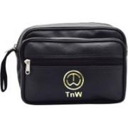 InW Cash Bag Travel Shaving Bag(Black)