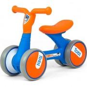 Bicicleta fara pedale, Ride-On, Milly Mally, Tobi Orange Blue