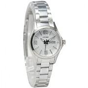 Citizen Analog White Round Women's Watch-EQ0590-59A